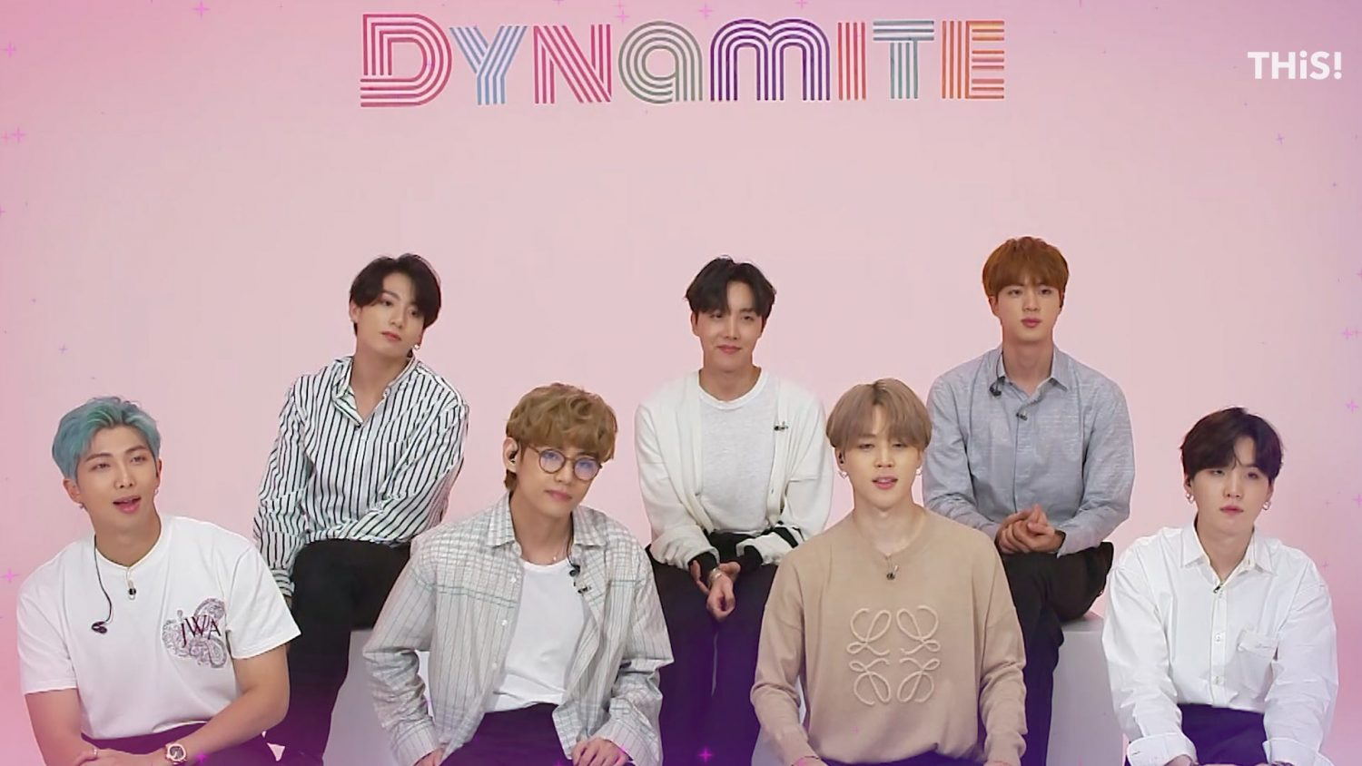 BTS Opens up About 'Dynamite' Achieving No.1 Status and Thank Fans