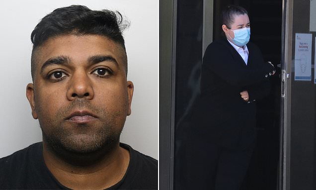 Pervert who had sex with chickens in his basement while his wife filmed him is jailed for three years