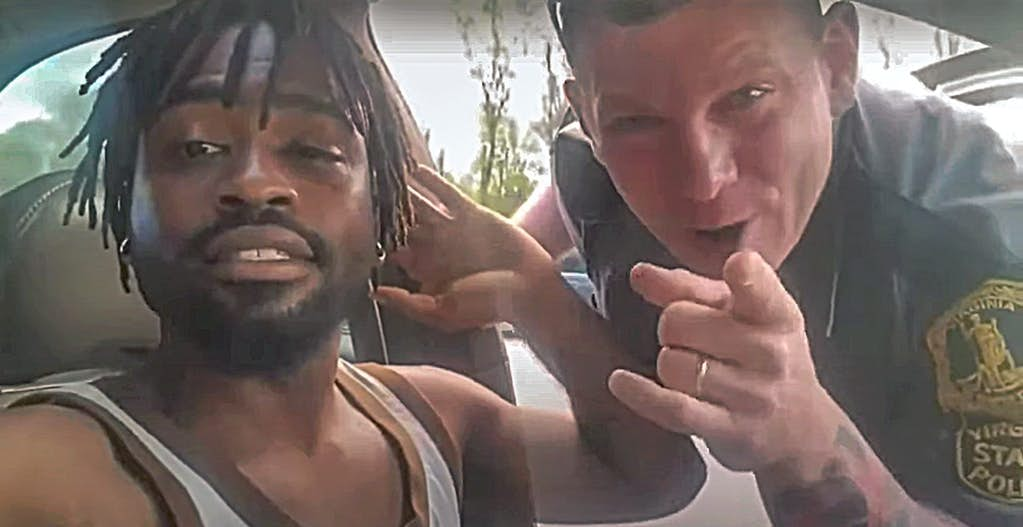 Watch: Unhinged Cop Turns to Camera and Smiles before Choking and Beating Man