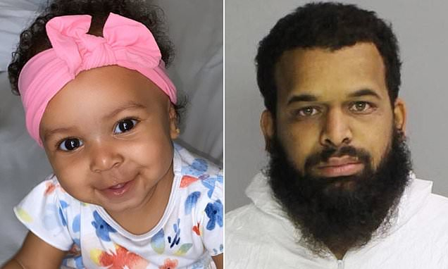 """Ten-month-old girl dies 'after being raped by her youth football coach father, 29, who Googled """"how do I know if a baby is dead"""" and waited an hour before calling 911'"""