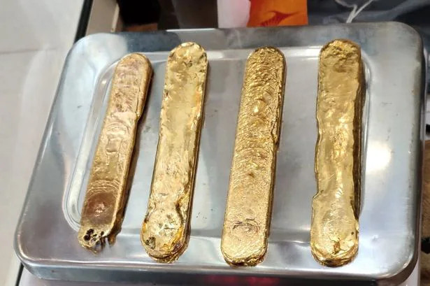 Smuggler Caught Hiding Almost A Kilogram Of Gold Up His Butt