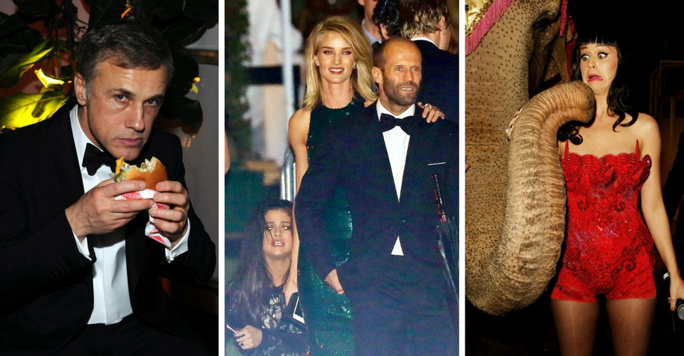 20 most awkward celeb photos taken at exclusive hollywood parties