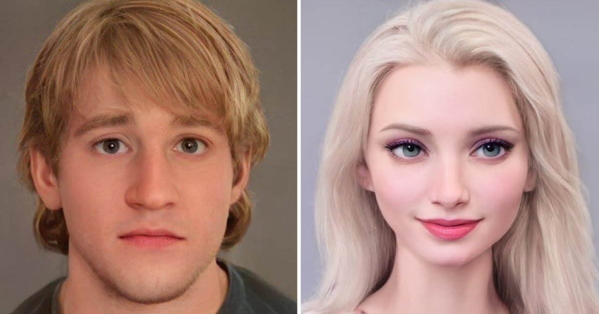 artist shows what disney characters would look like in real life