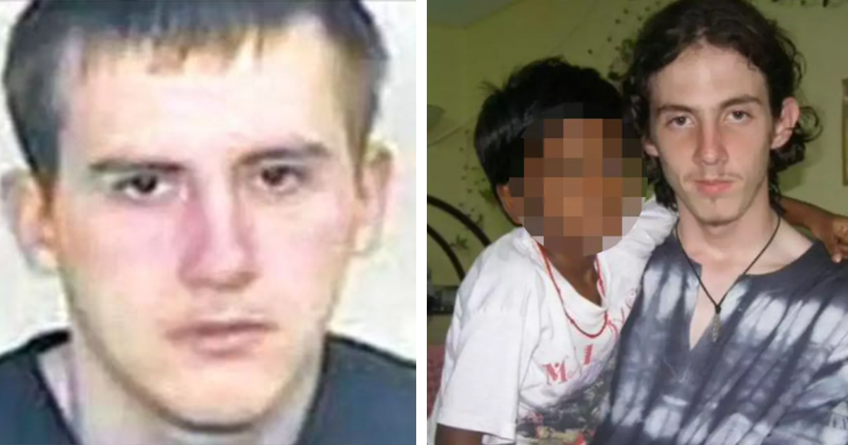 prisoner laughs as he's found guilty for murdering one of britain's worst paedophiles in jail