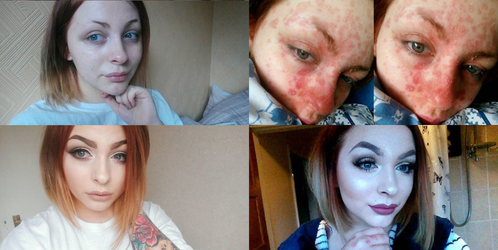 woman dumped by boyfriend after he sees her without makeup for the first time