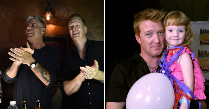 queens of the stone age guitarist josh homme shares an adorable letter anthony bourdain wrote to his daughter