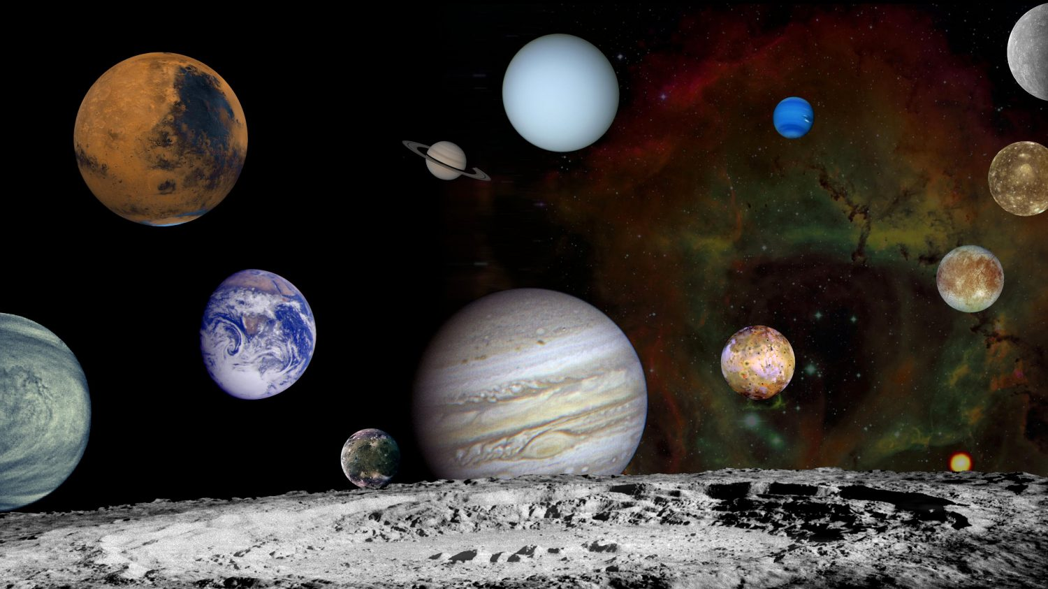 all seven planets in the solar system will be visible in the sky this month