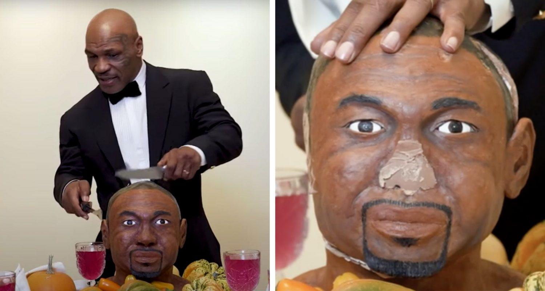 Mike Tyson Eats Roy Jones Jr's 'ear' Ahead Of Big Fight