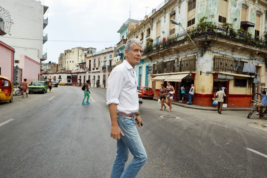 anthony bourdain's musical hero is a punk rock icon