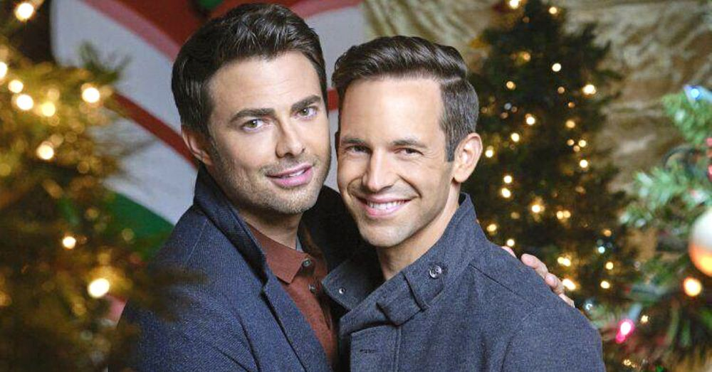 hallmark debuts their first christmas movie starring a gay couple
