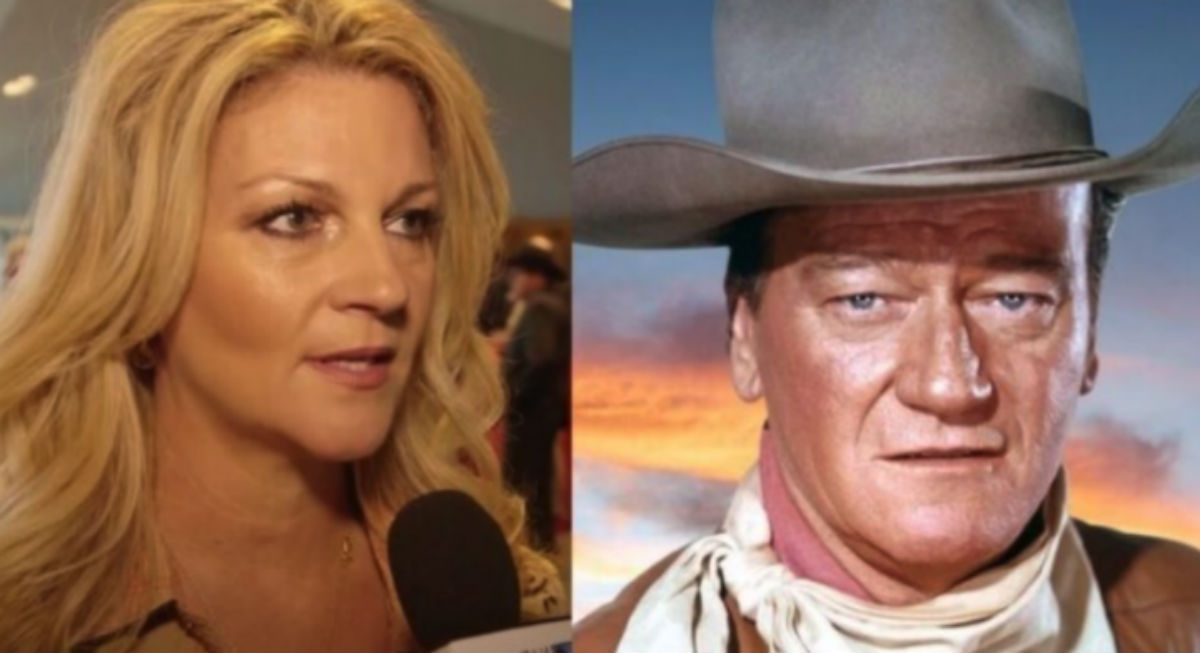 john wayne's daughters speaks out after people try to destroy her dad's legacy