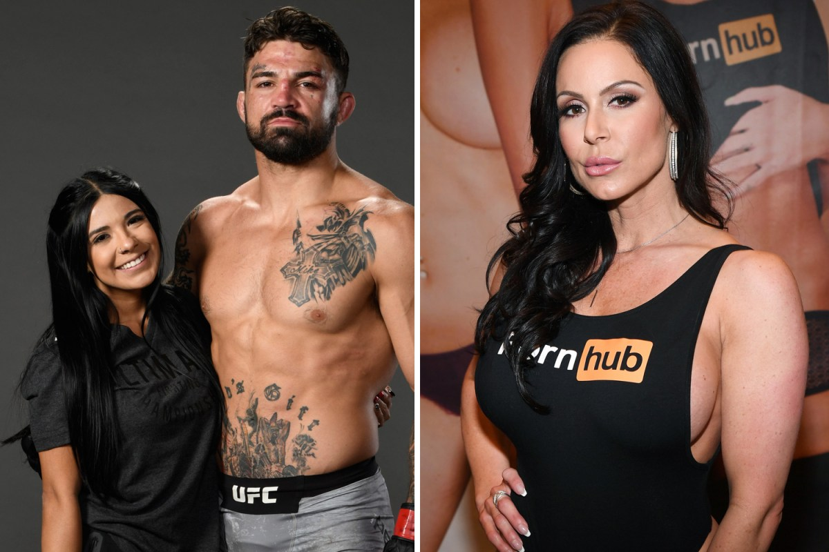 mike perry to have pregnant girlfriend in his corner for ufc 255 after snubbing porn star kendra lust's £4.5k offer
