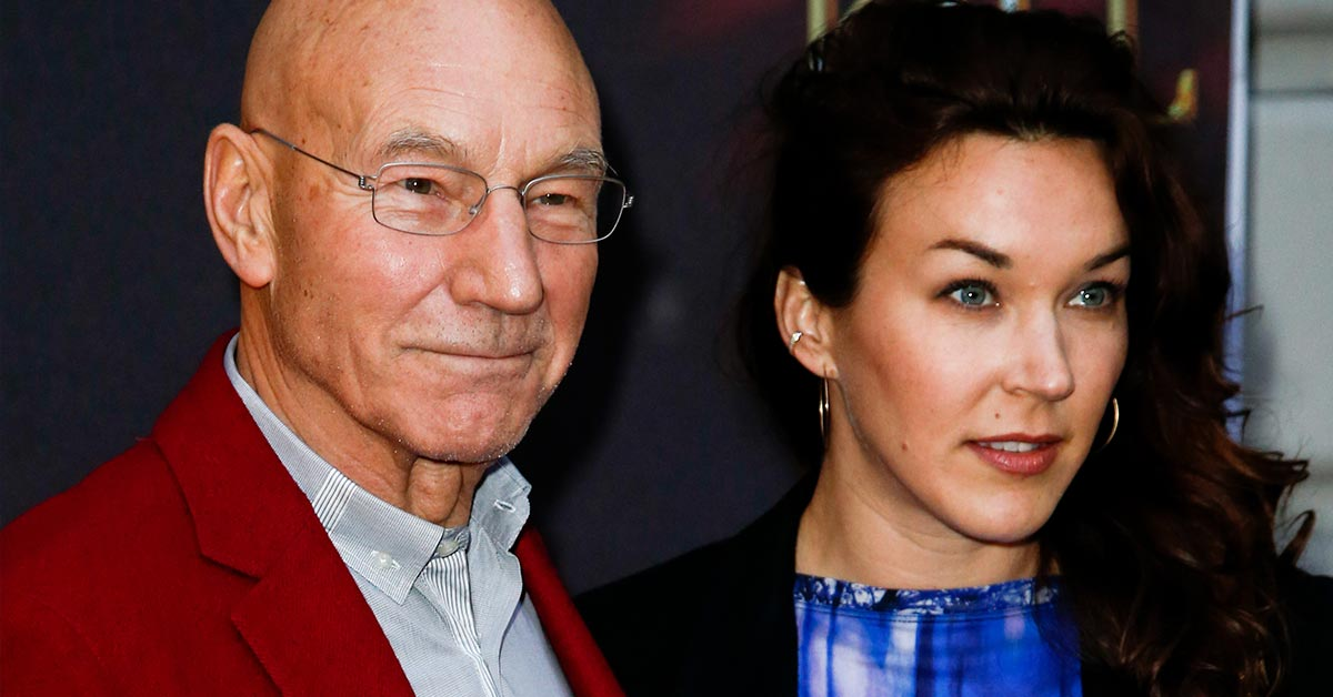 patrick stewart and his wife defy their 38-year age gap and listen only to their hearts