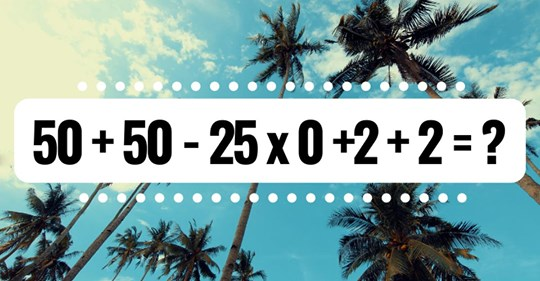 making math fun: can you solve this tricky equation without a calculator?