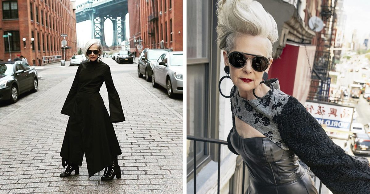 journalists accidentally confuse a 66-year-old teacher with a fashion icon, and it ends up changing her life