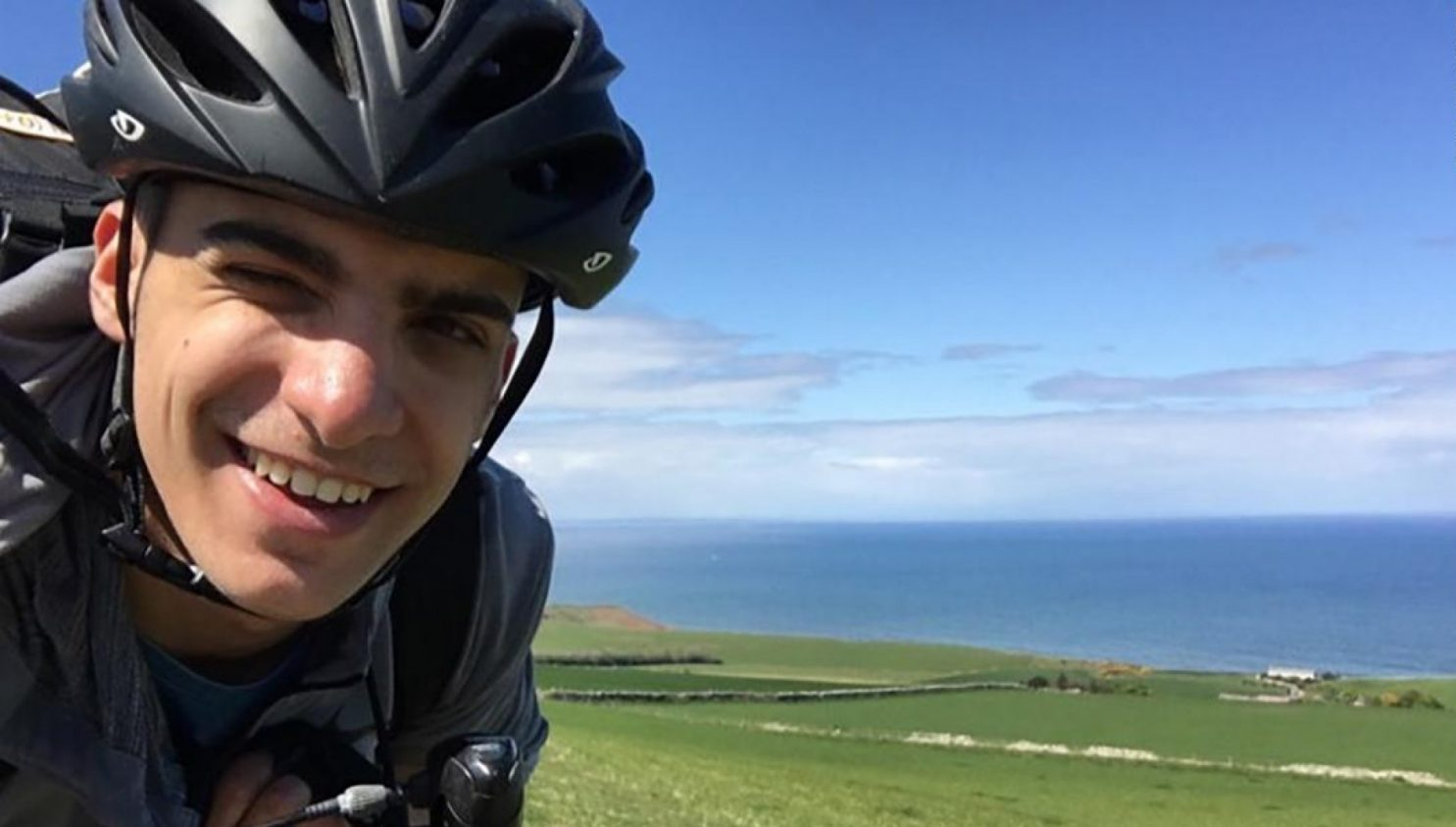 this greek college student biked 48 days to make it back home to his family when flights were canceled