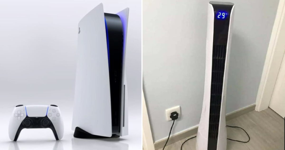 man sells ps5 after wife realizes it's not an air purifier