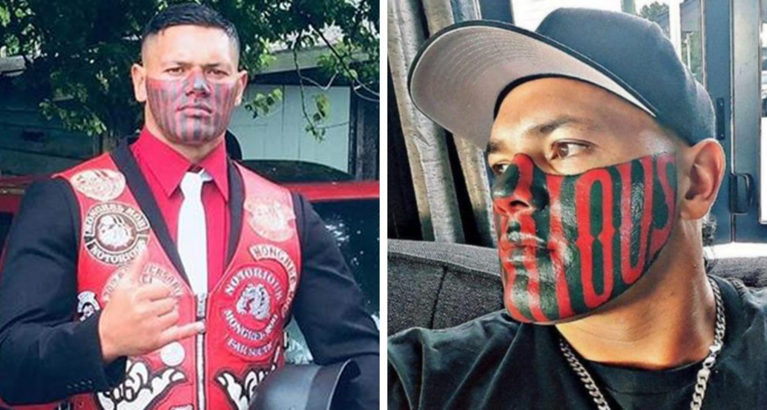 Former Mobster Having Trouble Finding A Job Because Of His Large Facial Tattoo