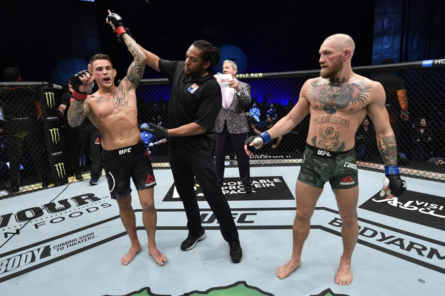punter scoops £400k after betting on dustin poirier to beat conor mcgregor in shock ufc 257 ko win