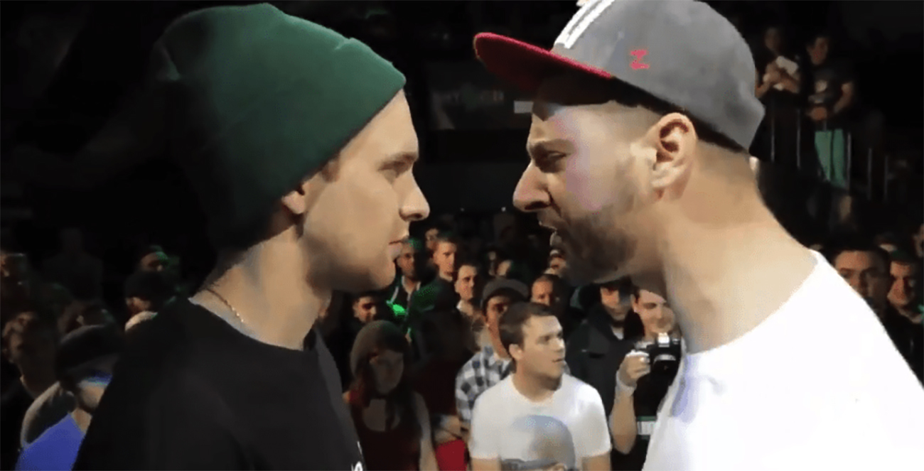 battle rapper ruins opponent's life by exposing his cheating to fiancée in the crowd