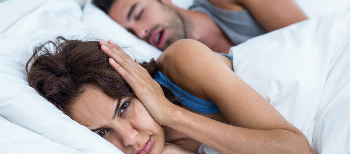 you can now get a device that shocks your spouse when they snore