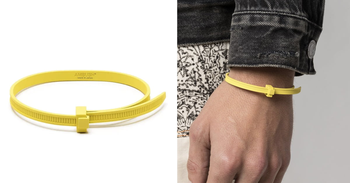 fashion brand launches $465 zip tie bracelet