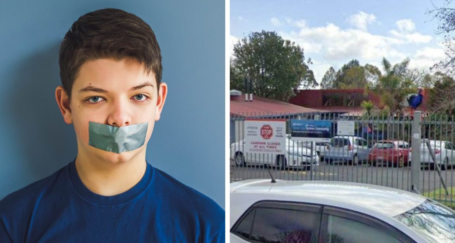 Boy, Seven, 'has His Mouth Taped Shut By A Teacher For Talking Too Much In Class'