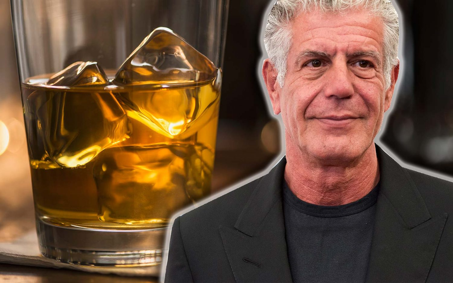 anthony bourdain says this is how you should be drinking whisky