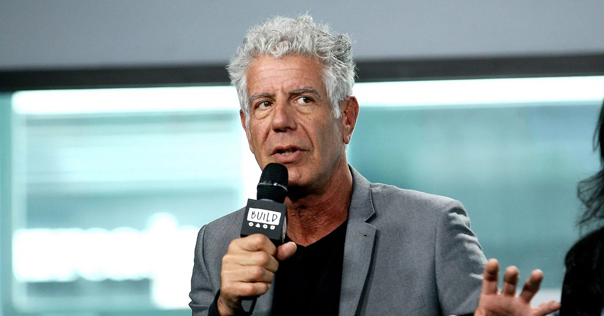anthony bourdain sometimes traveled with a 'sneaky credit card that turns into a knife'