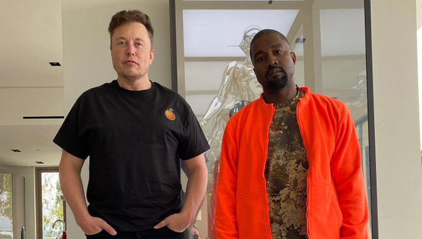kanye west drops out of race after elon musk offers him position as president of mars