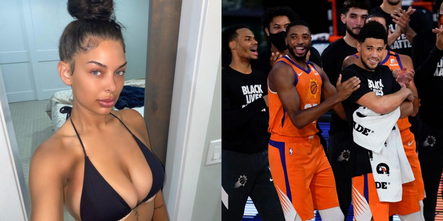 the model who sucked off 7 nba players in one night is set to make $100k on onlyfans by this weekend