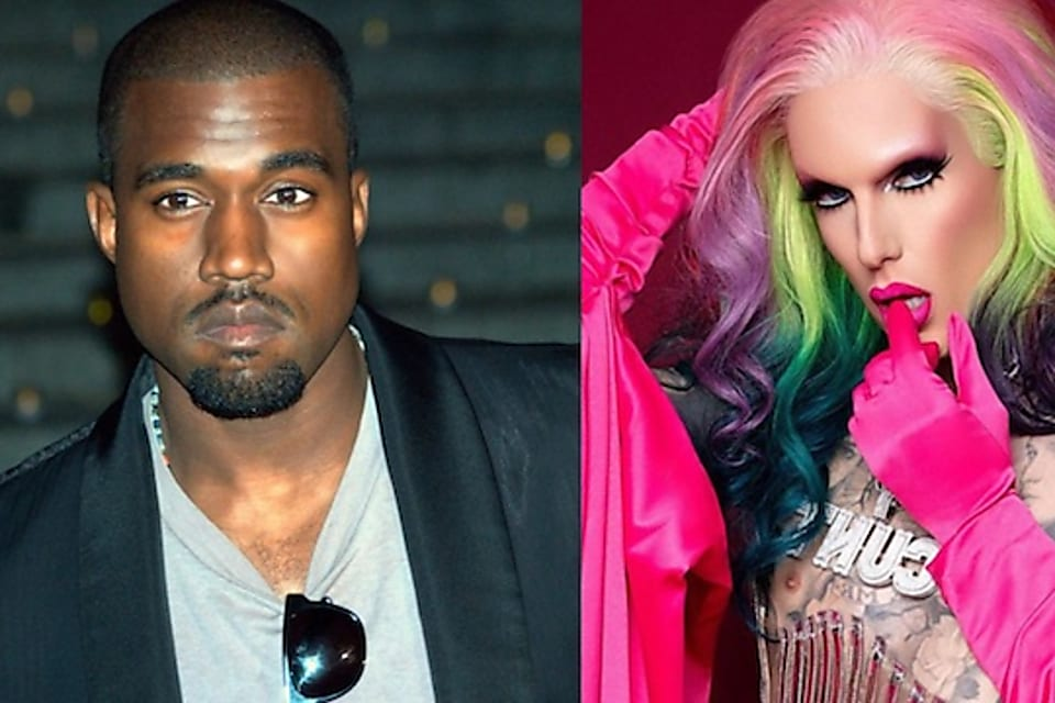a tiktoker has sent the internet into a frenzy by saying that kanye west is shagging jeffree star