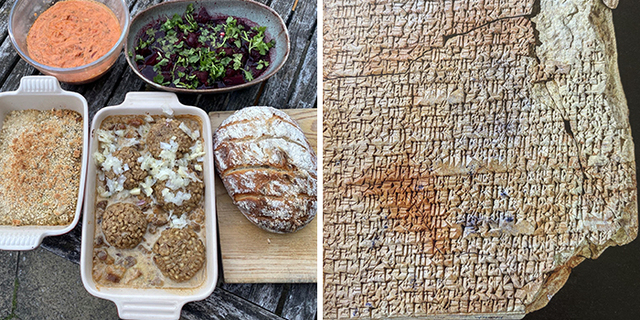 professor tries out recipes that are almost 4000 years old, shares how they looked and tasted