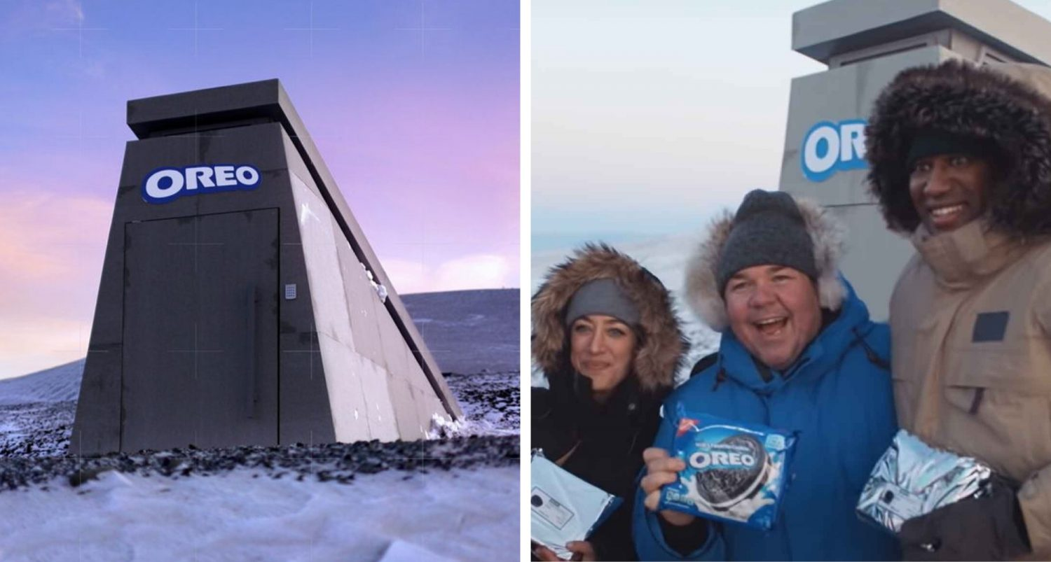 Oreo Built Doomsday Vault To Preserve Its Cookies For Future Generations