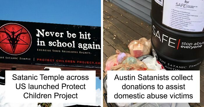 10 times satanists surprised people by doing good deeds