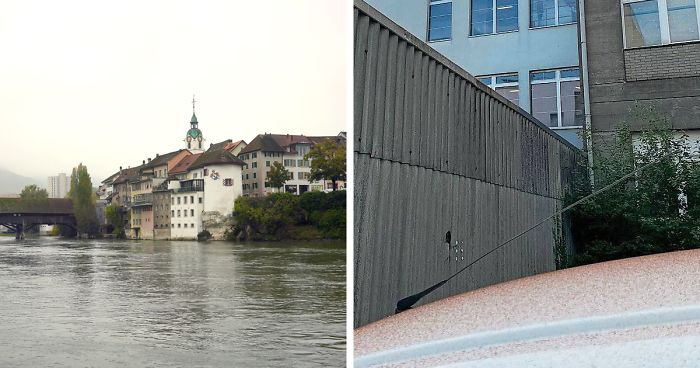 """chocolate snow"""" covers swiss town after a mishap at the local chocolate factory"""