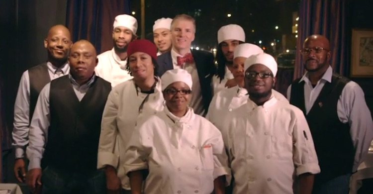 french restaurant hires exclusively ex-cons who want culinary training