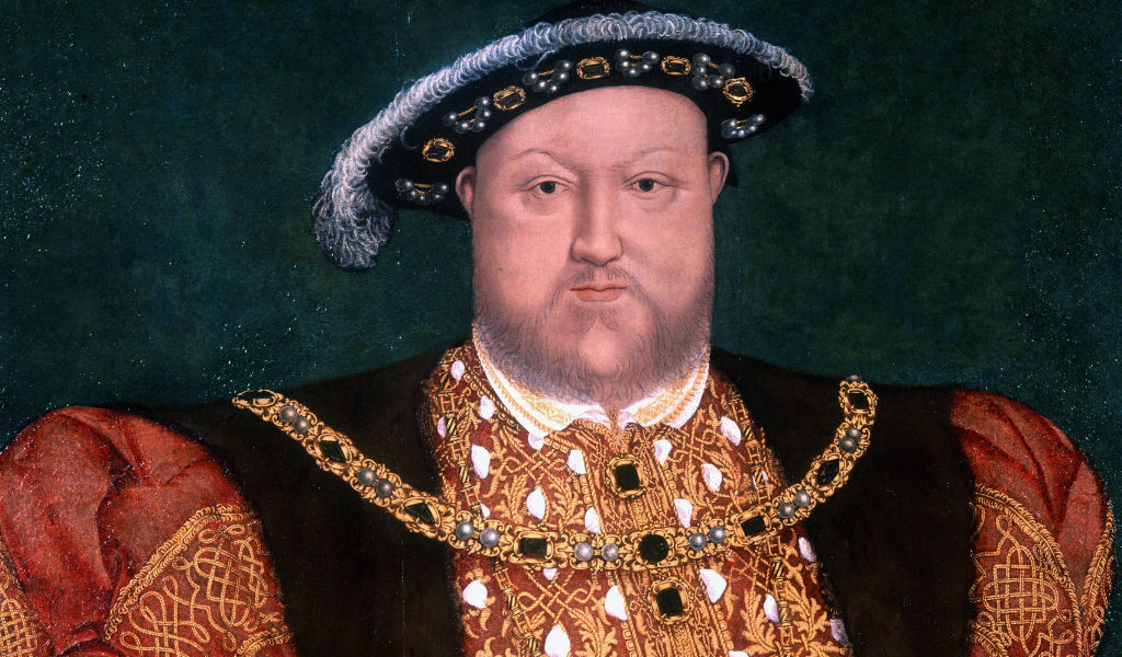 the 2million euro centerpiece of henry viii's lost crown found under tree after 400 years