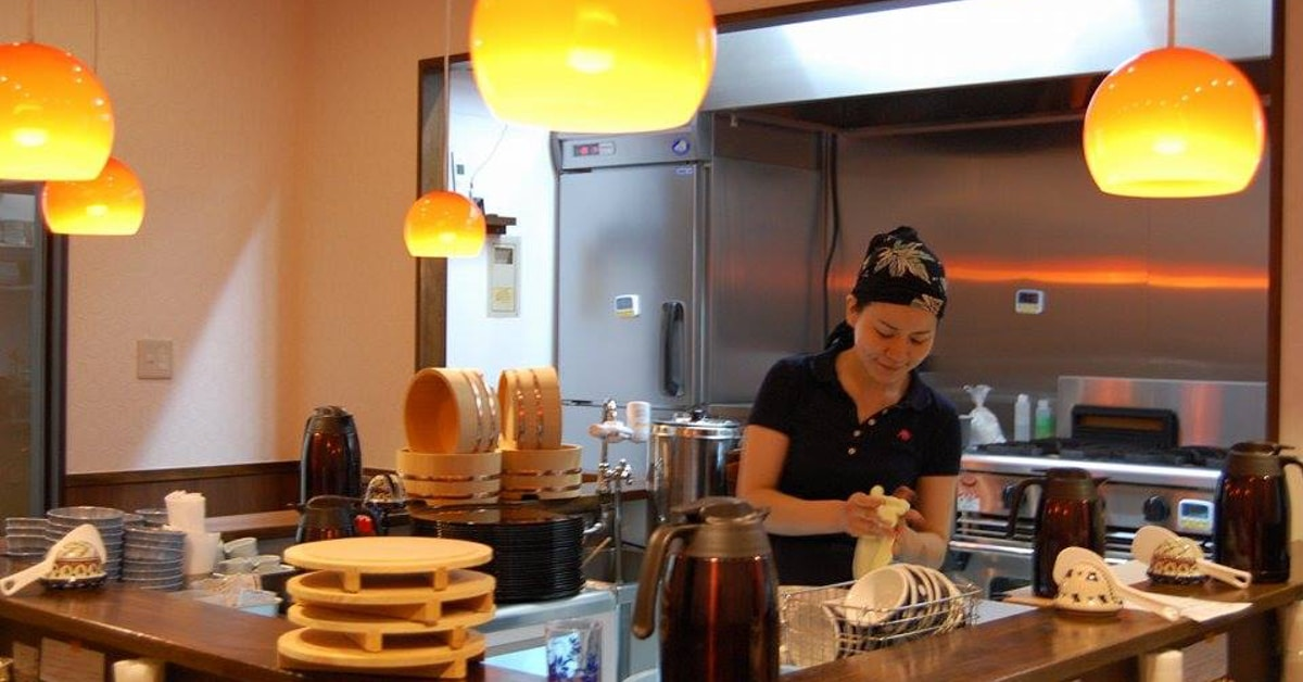 tokyo restaurant lets you work a 50-minute shift to earn a free meal