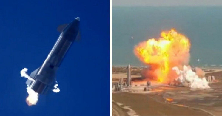 spacex starship explodes upon landing in latest test of mars-bound spacecraft