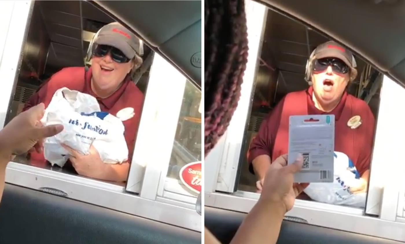 uber driver surprises fast food worker with new clothes after hearing about her christmas wish