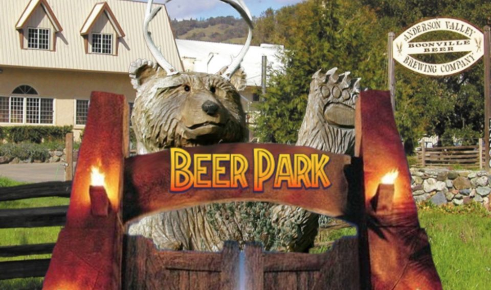 anderson valley opens 30-acre outdoor utopia dubbed 'beer park'