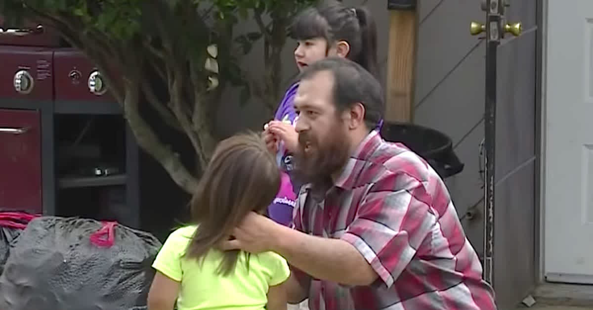 quick-thinking dad knocks out kidnapper trying to take 3-year-old daughter from park