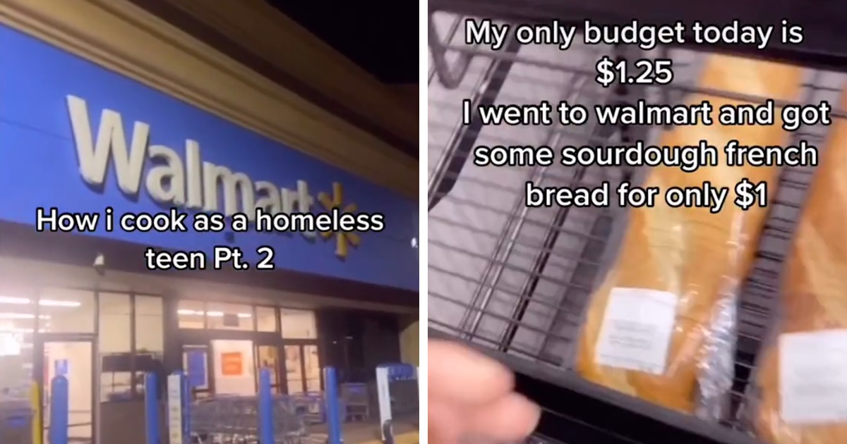 homeless teen goes viral with 19m views after showing how he cooks his meals