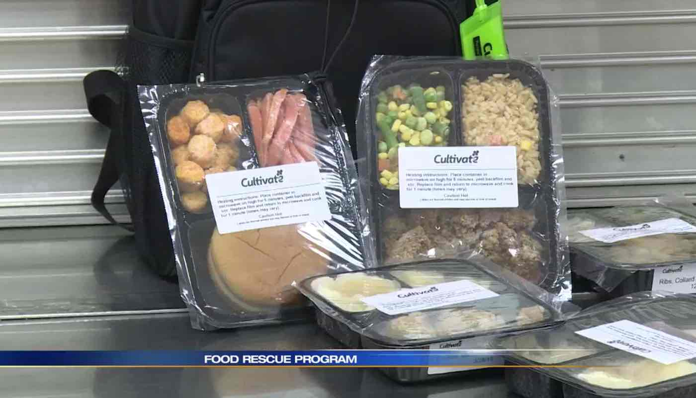school district turns unused cafeteria food into take-home meals for kids in need