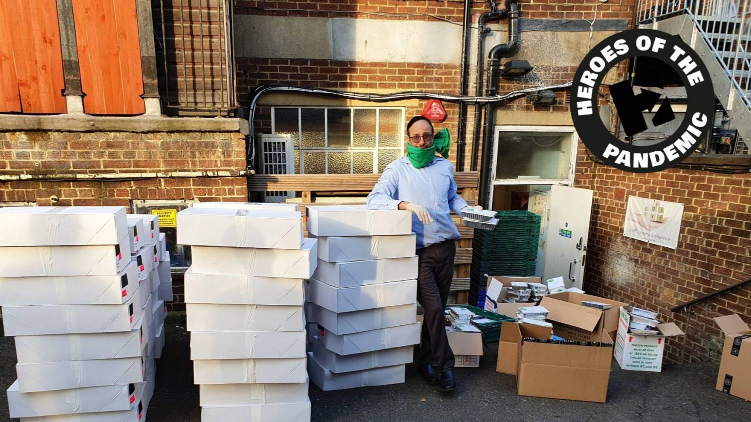 jewish charity delivers over 13,500 meals to vulnerable families during pandemic