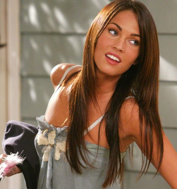 rare photos of young megan fox and transformations of the brunette beauty