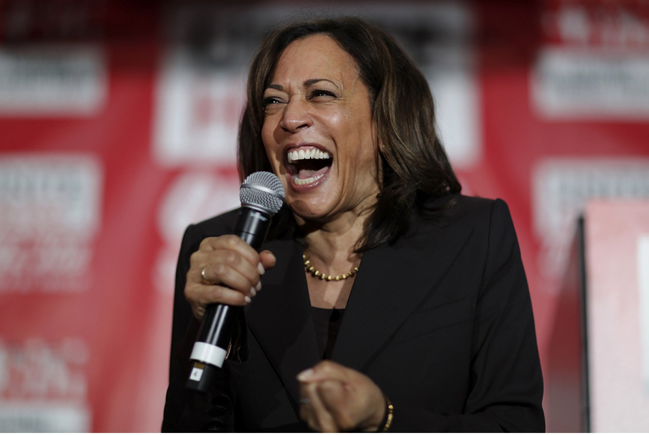 former weed smoker vp kamala harris keeps her job as staffers are fired for their past drug use