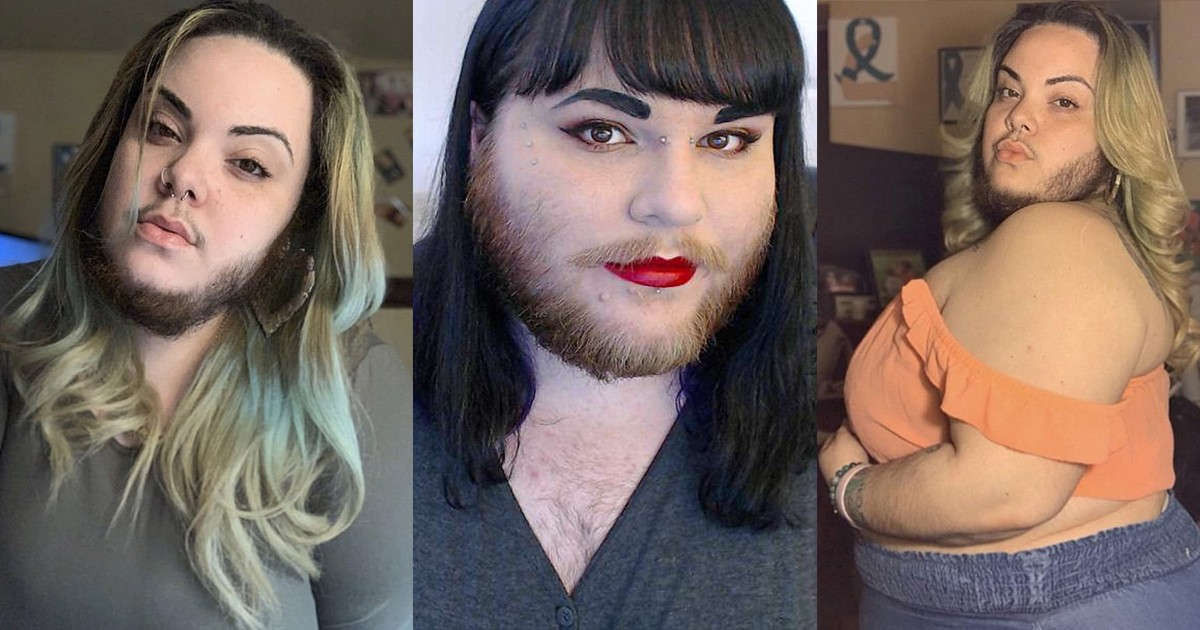 woman who decided to stop shaving her beard at 15, is now embracing her facial hair