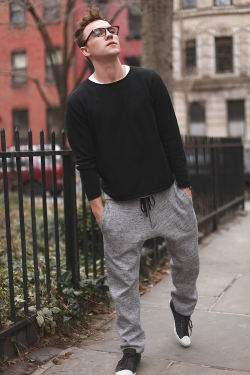 i wore sweatpants to class and you won't believe what happened